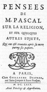 Pensées de 1669